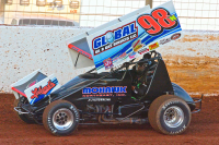 Dave Blaney's Cabon-Fiber Sprint Car