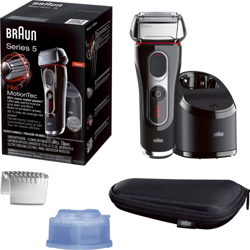 Braun Series 5 5090cc Electric Shaver With Cleaning Center'