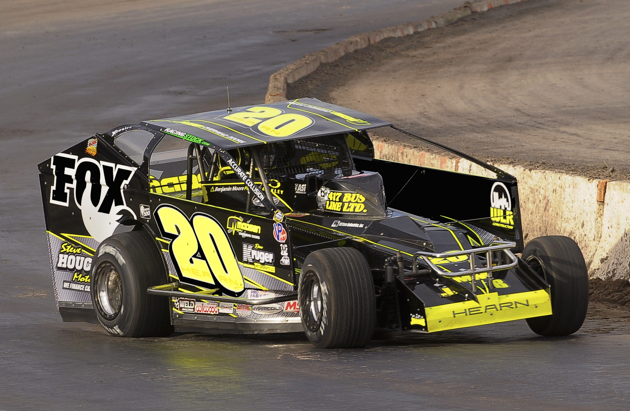 Brett Hearn And Champion Racing Oil