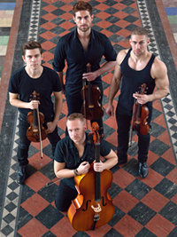 Well-Strung, The Singing String Quartet  Releases Live Video