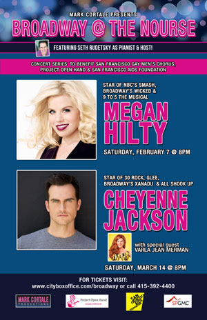 Broadway Concert Series with Megan Hilty & Cheyenne