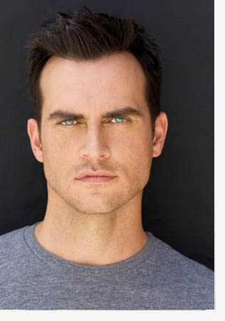 Cheyenne Jackson at the Nourse in San Francisco on March 14