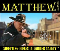 MLI Shooting Holes in Ladder Safety