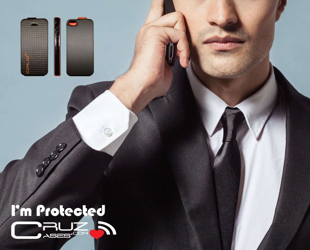 Cruz Cases New Hybrid Smart Phone Case Man