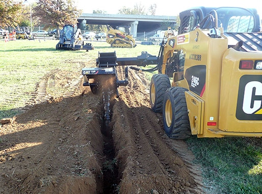 SideTrencher in Action