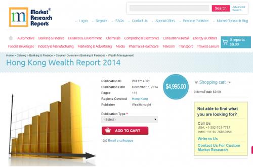 Hong Kong Wealth Report 2014'