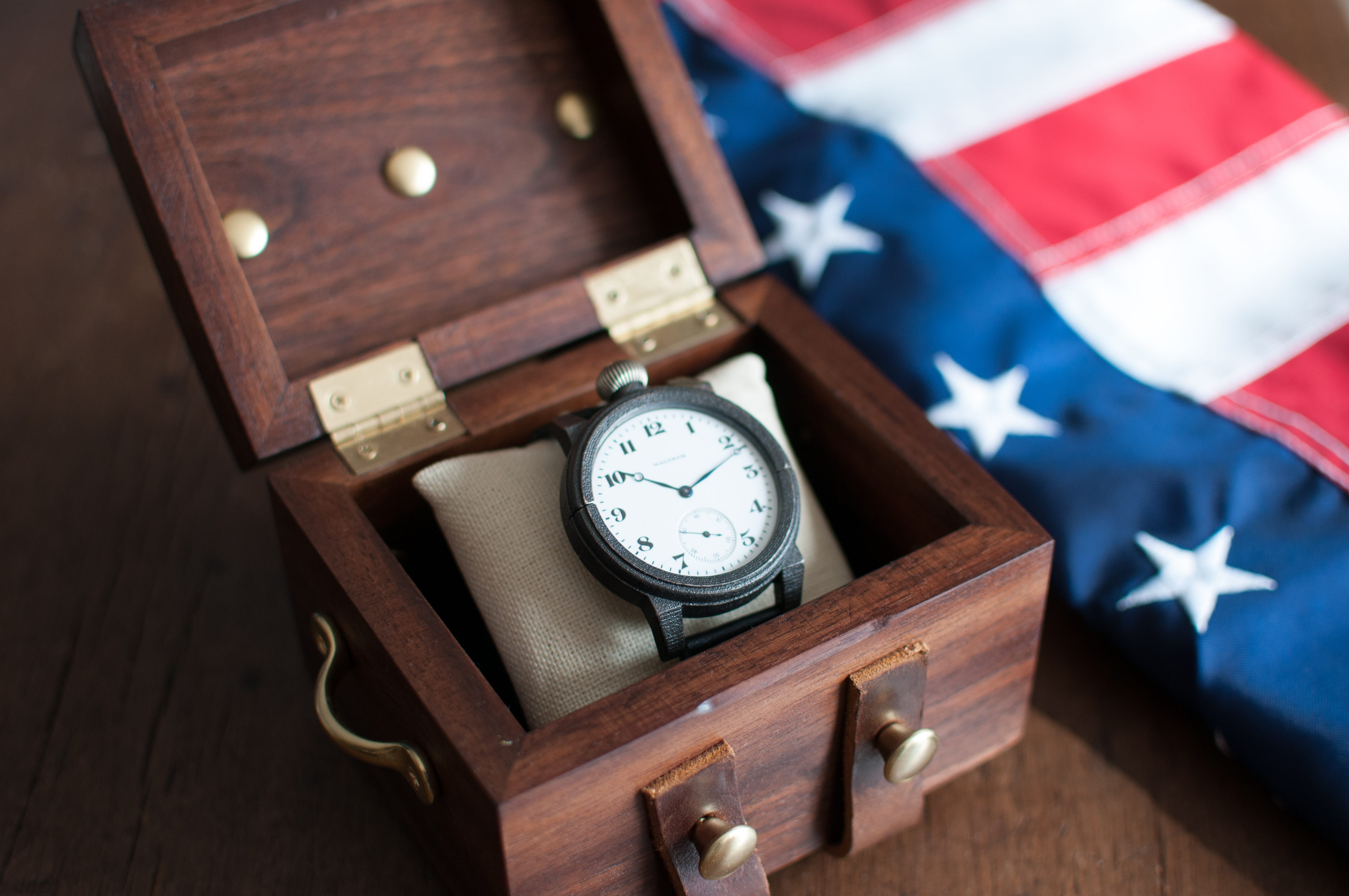 Vortic America Makes Foundation Watch & Box