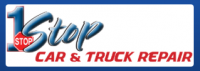1 Stop Car and Truck Repair Logo