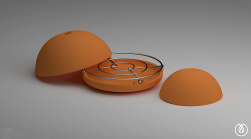 Egloo - Candle powered heater'