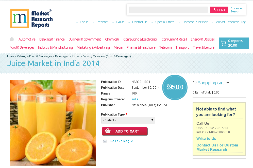 market research report on packaged fruit juices drinks in india essay With packaged fruit juice consumption in freefall in recent years fruit juice brands fighting for share in shrinking market australia's 10 most widely consumed fruit juices/drinks - weekly consumption.