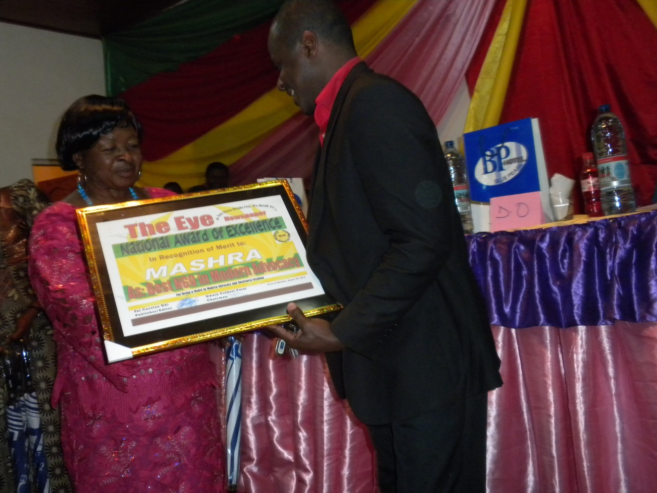 BEST NGO IN MODERN ADVOCACY Award