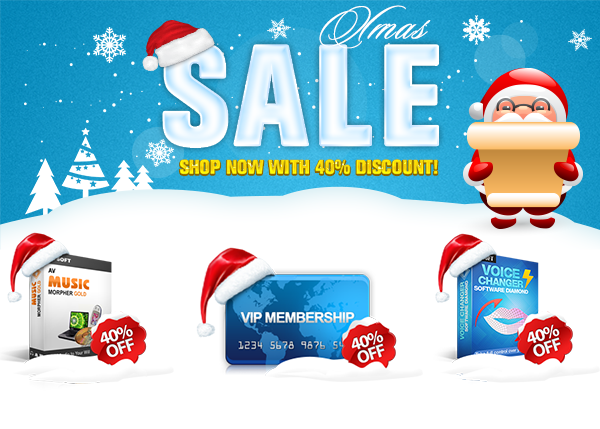 Audio4fun Celebrates Xmas 2014 By Offering Real Deals