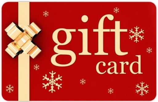 Office furniture Christmas gift cards