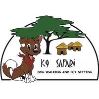 K9 Safari dog walking and pet sitting Logo