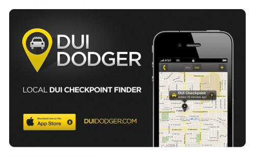 DUI Dodger iPhone App'
