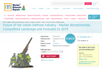 Uzbek Defense Industry to 2019