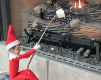 The Return of Elfred and Elf on the Shelf
