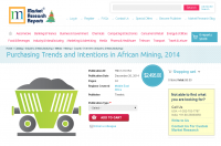 Purchasing Trends and Intentions in African Mining 2014