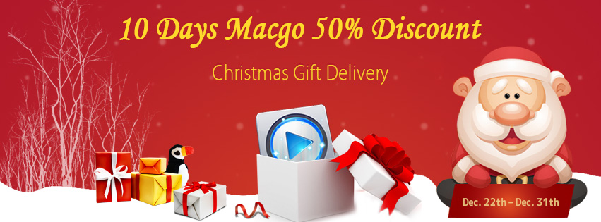 Macgo Christmas Super Sale