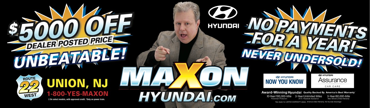 Maxon billboard