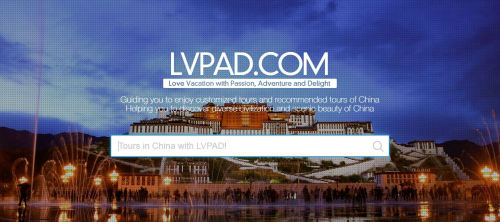 lvpad.com, offers the best China tour guide'