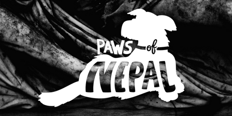 Paws of Nepal Logo