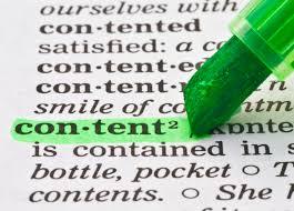 content development'