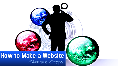 how to create a website'