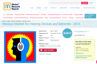 Mexican Market for Hearing Devices and Batteries - 2015