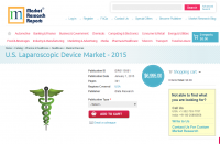 U.S. Laparoscopic Device Market - 2015