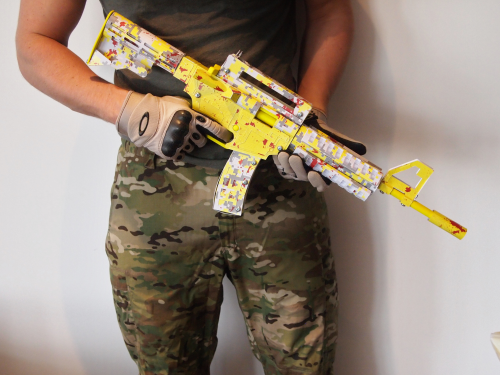 PaperShooters Rifle'