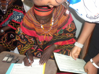 The Fon Signs the Widowhood Rites to Rights Agreement