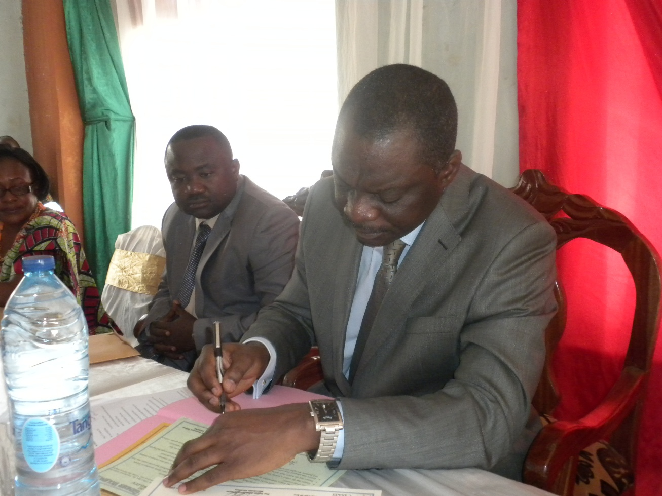 The SDO Signs the Widowhood Rites to Rights Agreement