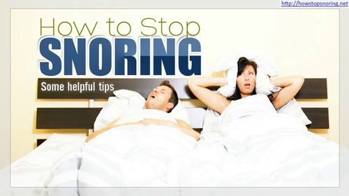 Natural Cures for Snoring'