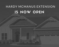 Hardy McManus Extension is Now Open