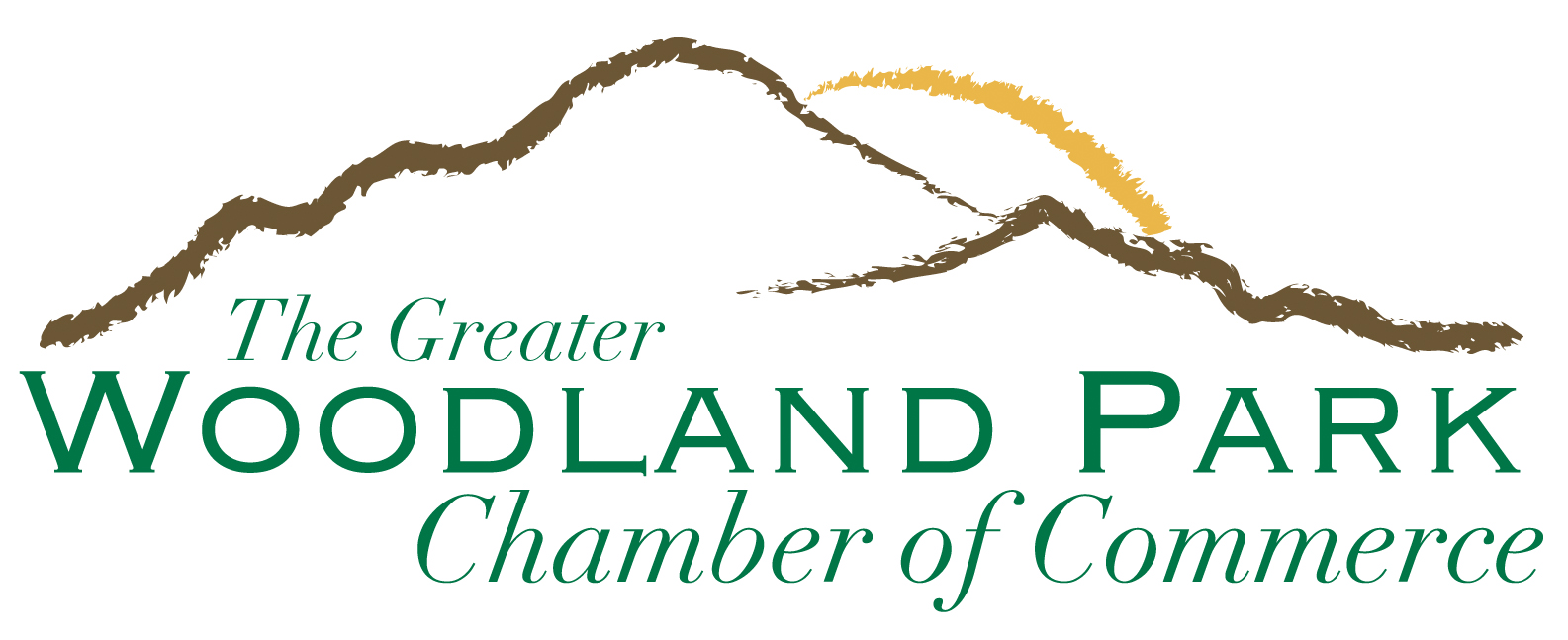 Official Logo Greater Woodland Park Chamber of Commerce