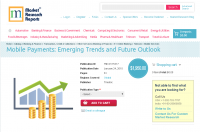 Mobile Payments: Emerging Trends and Future Outlook