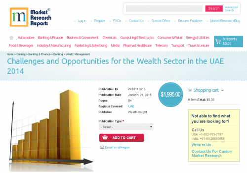 Challenges and Opportunities for the Wealth Sector in UAE'