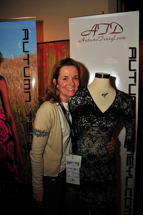 Actor Lea Thompson Visits Autumn Teneyl at Sundance