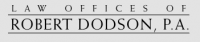 Law Offices of Robert Dodson, P.A. Logo