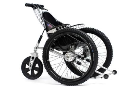 A Trekinetic K2 All Terrain Wheelchair!'