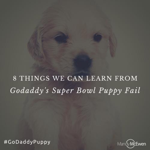 Godaddy Puppy'