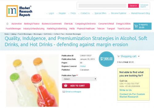 Quality, Indulgence, and Premiumization Strategies in Alcoho'