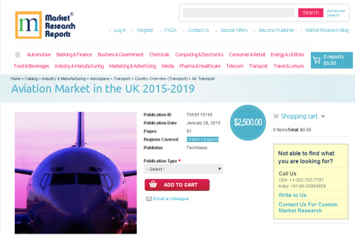 Aviation Market in the UK 2015-2019'