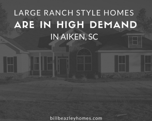 Ranch Style Homes are in High Demand in Aiken, SC'