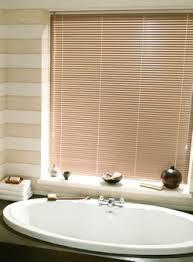 bathroom window blinds'