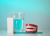 proper denture sanitation'