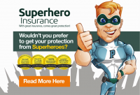 Super Hero Insurance Cover