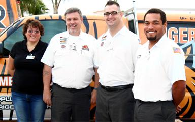 The Tiger Mechanical Team'