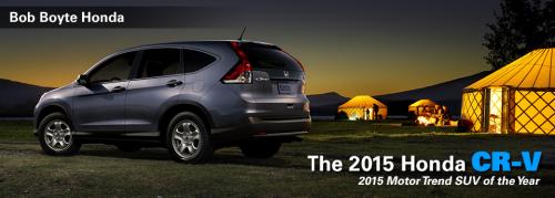 2015 Honda CRV'